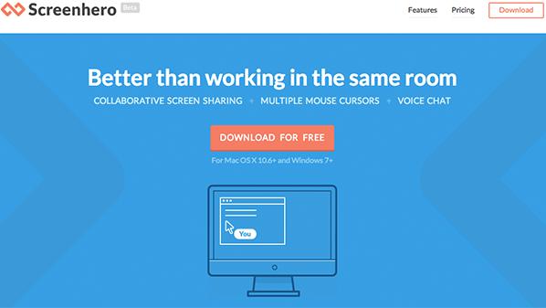 برنامج مشاركة الشاشة ScreenHero