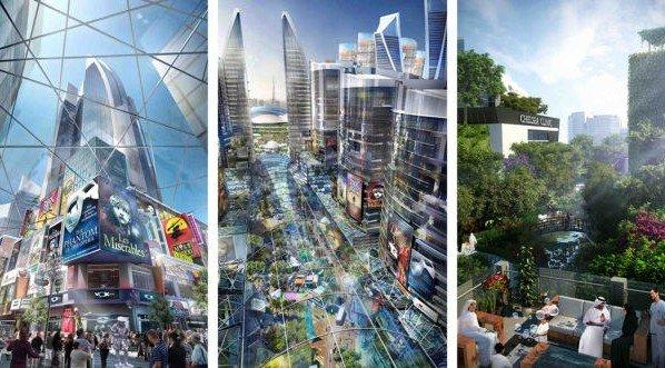 دبي، المدينة المكيفة بالهواء
