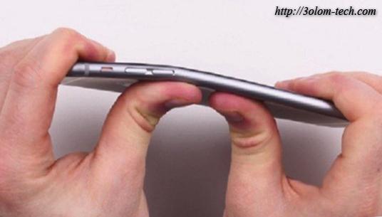 iPhone 6 Plus مشكلة انحناء ايفون 6 ابليس