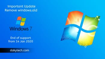 how to remove windows.old after update - طريقة حذف ملف ويندوز أولد بعد التحديث إلى ويندوز 10 النسخة الأخيرة